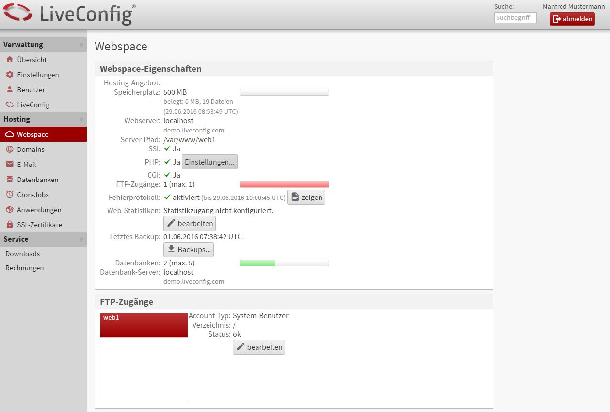 Liveconfig-screen-web