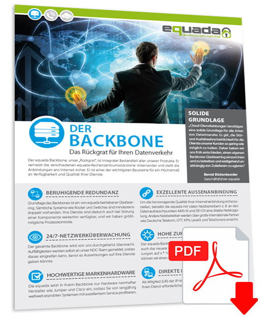 Flyer-backbone