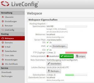 live-config