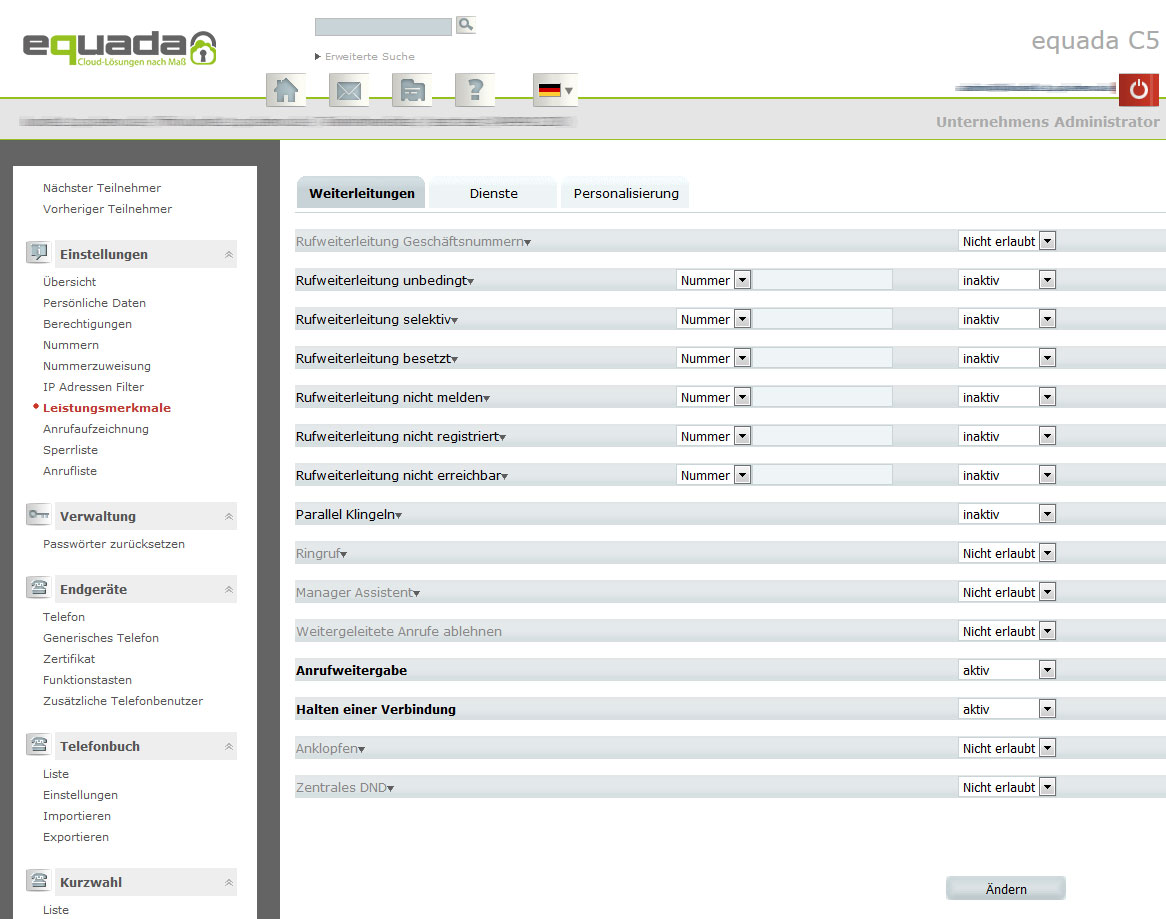 Equada-hosted-pbx-features