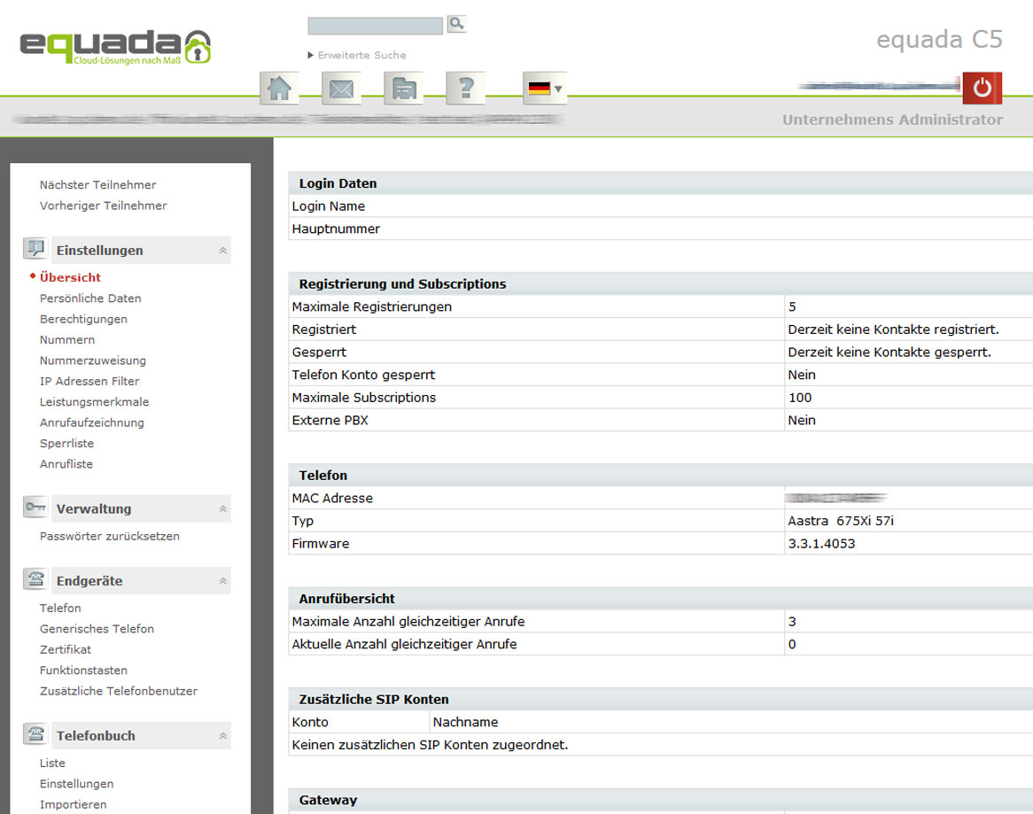 Equada-hosted-pbx-nebenstellen